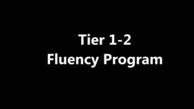 Thumbnail for entry Fluency - Tier 1-2 Program - July 2015