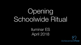 Thumbnail for entry Opening Ritual - Iluminar April - Comm Circle