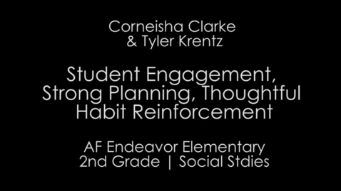 Thumbnail for entry Week 5 - Elementary Student Engagement, Strong Planning, Habit Reinforcement