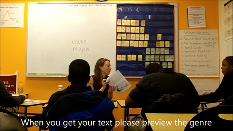 Thumbnail for entry Video 2 - Guided Reading Introduction - Anna Reeves - ENDMS March 2016 - 6 min.