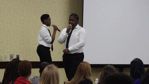 Thumbnail for entry AF Hartford MS Spoken Word Scholar Performance at the 2017 School Leader Summit