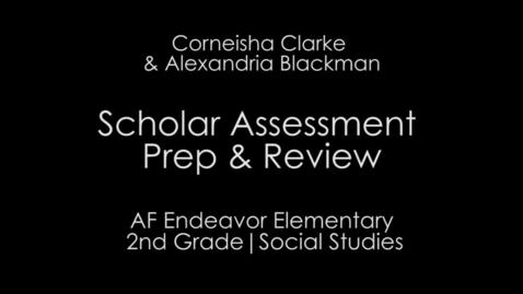 Thumbnail for entry Week 6 - Assessment Prep