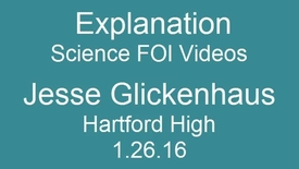 Thumbnail for entry Science FOI VIdeos - Explanation -11th grade Pre-AP Biology Jesse Glickenhaus