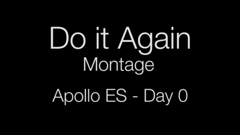 Thumbnail for entry Do It Again Montage