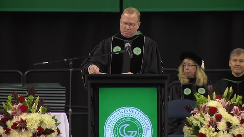 Thumbnail for entry Rob Woodall - GGC Fall 2014 Commencement