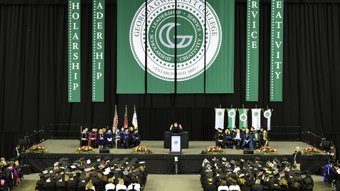 Thumbnail for entry GGC Summer Commencement - 08-02-2018