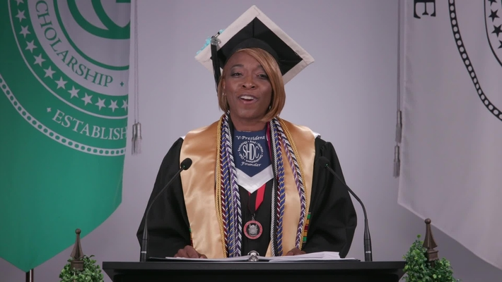 Andrea Devereux - 2020 Spring / Summer Commencement