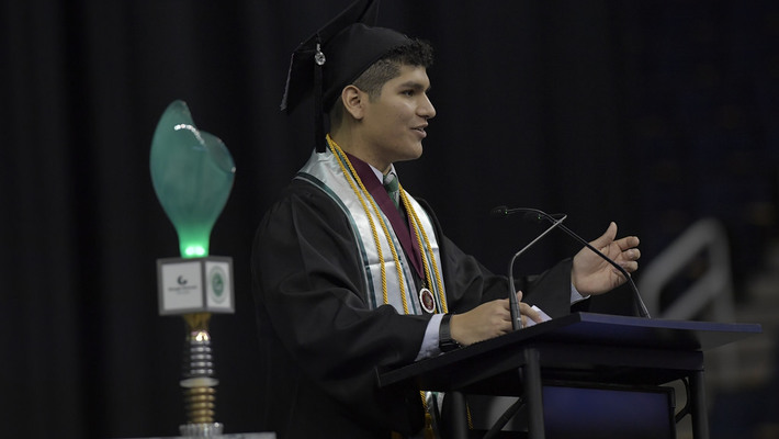 Mark Guevara - GGC Fall 2017 Commencement