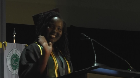 Thumbnail for entry Olivia Mugenga - GGC Fall 2015 Commencement