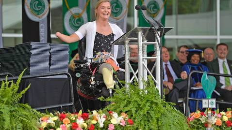 Thumbnail for entry Aimee Copeland - GGC Spring 2016 Commencement