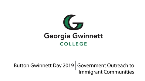 Thumbnail for entry 2019 Button Gwinnett Day - Government Outreach