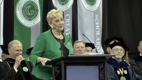 Sandra Deal - GGC Summer 2016 Commencement