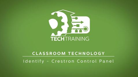 Thumbnail for entry 11 - Classroom Technology - Control Panel
