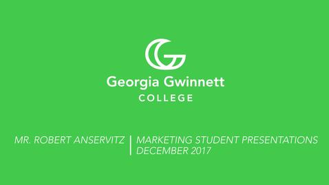 Thumbnail for entry Anservitz Marketing Presentations - December 5, 2017