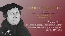 Thumbnail for entry Dr. Andrea Green - Reformation Legacy: From Martin Luther to MLK and Beyond