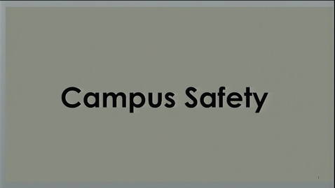 Thumbnail for entry 2017-08-10 - Compliance Day - Campus Safety