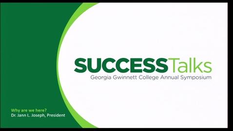 Thumbnail for entry 2019 Success Talks - Dr. Jann L. Joseph