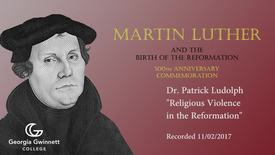Thumbnail for entry Dr. Patrick Ludolph - Religious Violence in the Reformation