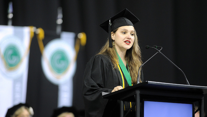 Ana Echeverry - Summer Commencement 2018