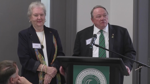Thumbnail for entry Strickland Laboratory Dedication Ceremony