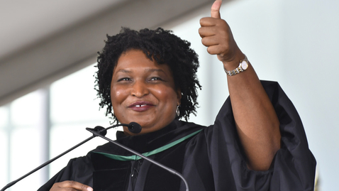 Thumbnail for entry Stacey Abrams - GGC Spring 2017 Commencement