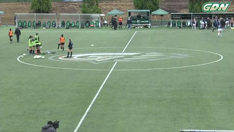 Thumbnail for entry 2019 A.I.I. Women's Soccer Semifinals #2: Viterbo (Wis.) vs Bellevue (Neb.)