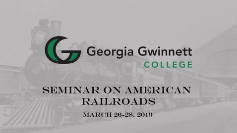 Thumbnail for entry 01 - 2019 Railroad Seminar - Opening Remarks