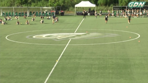 Thumbnail for entry GGC women's soccer vs TU