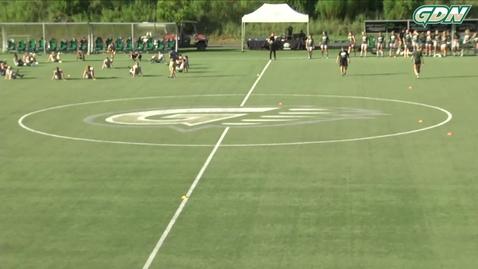 Thumbnail for entry GGC women's soccer vs TU