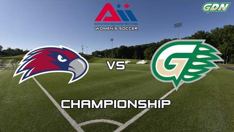 Thumbnail for entry GGC women's soccer vs VU