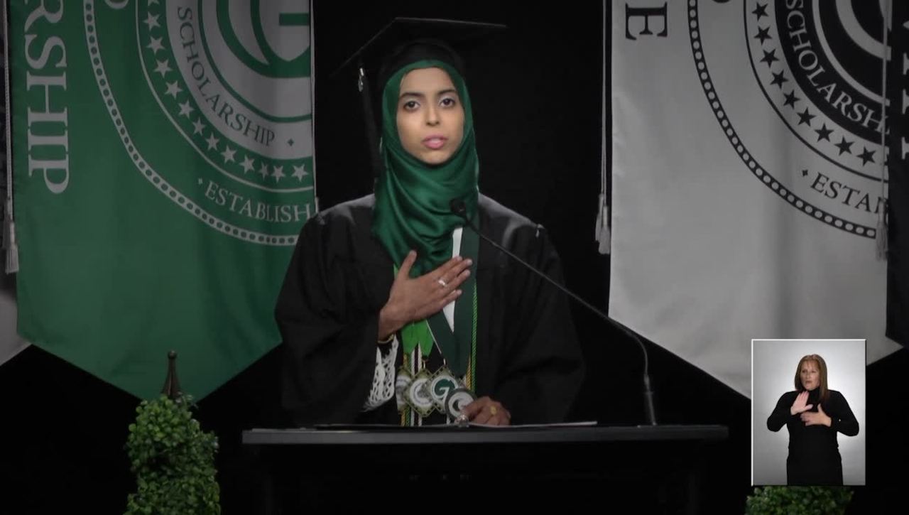 Muminah Chaudhry - 2020 Fall Commencement