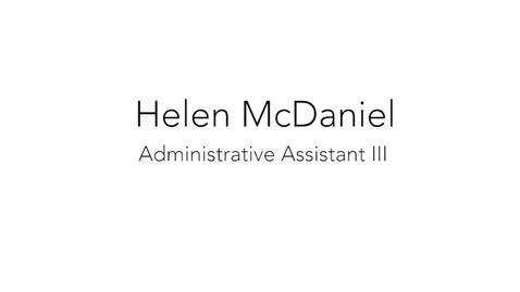 Thumbnail for entry Hellen McDaniel