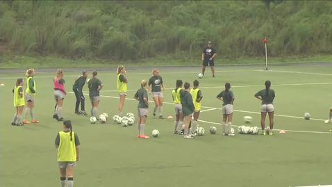 Thumbnail for entry GGC women's soccer vs EC