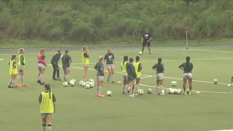 Thumbnail for entry GGC women's soccer vs EC
