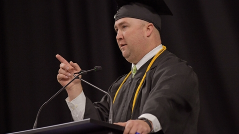 Thumbnail for entry Justin Lunt - Fall Commencement 2018