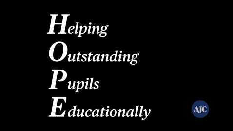 Thumbnail for entry Hope Scholarship - A Brief Overview