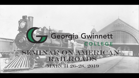 Thumbnail for entry 11 - Accelerating Social Change and Globalization Blame It On the Railroads!