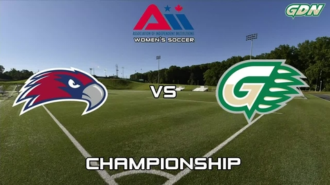 Thumbnail for entry GGC Women's Soccer vs Viterbo