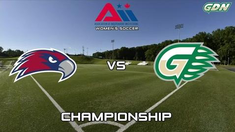 Thumbnail for entry GGC Women's Soccer vs Viterbo