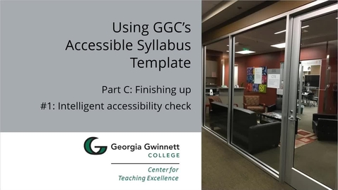 Thumbnail for entry C-01 Intelligent Accessibility Check