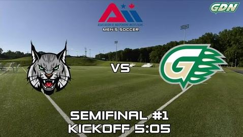 Thumbnail for entry GGC Men's Soccer vs Lincoln College