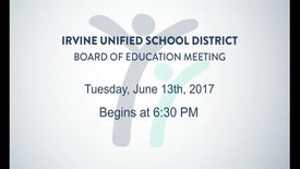 Thumbnail for entry 2017-06-13 Board Meeting