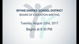 Thumbnail for entry 2017-08-22 Board Meeting