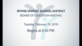 Thumbnail for entry 2019-02-19 Board Meeting