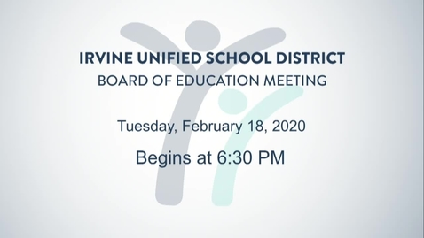 2020-02-18 Board Meeting