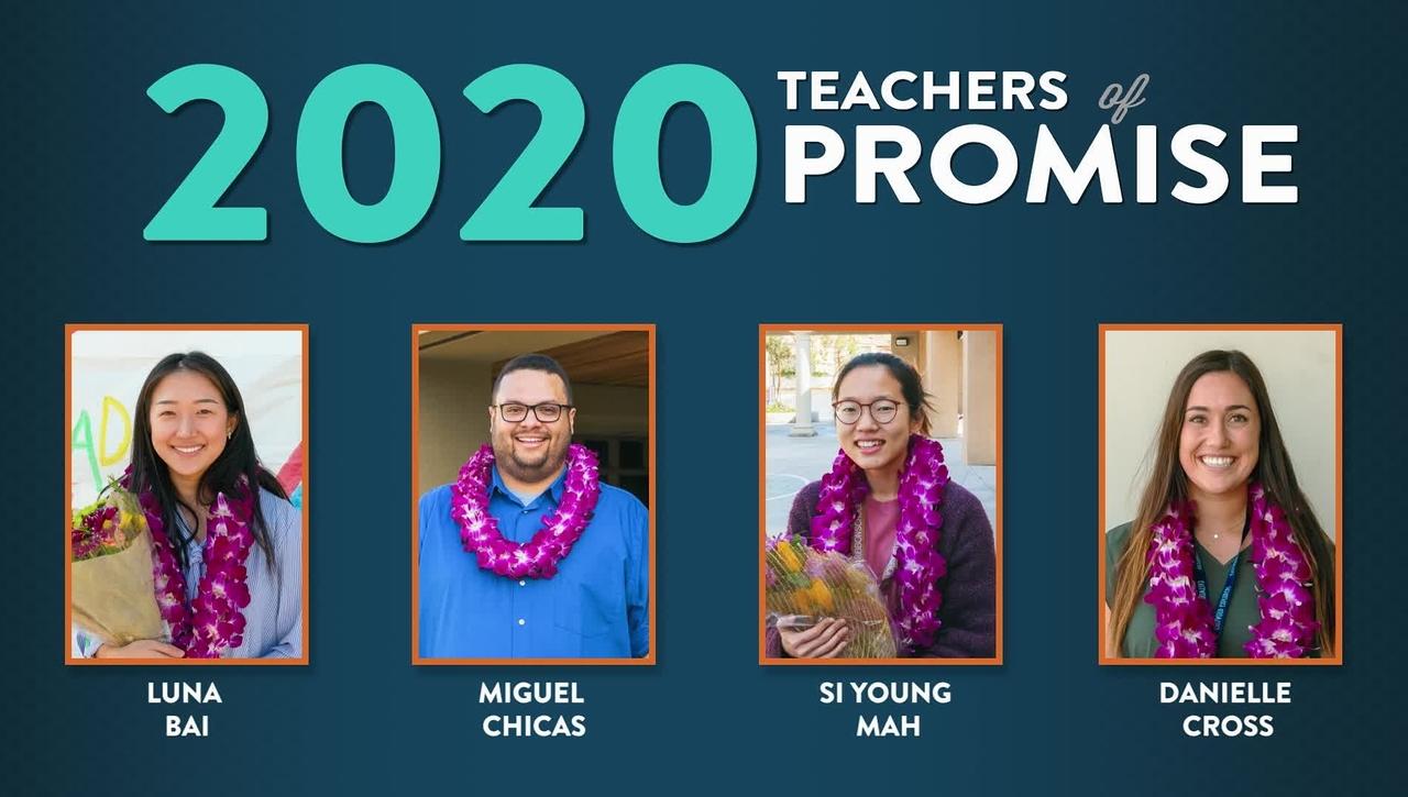 Teacher of Promise 2020