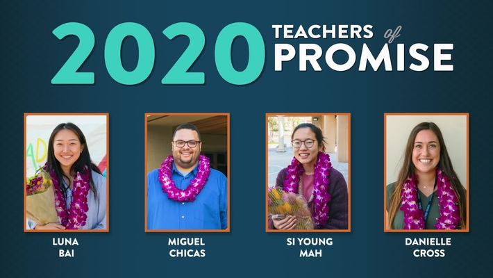 Teacher of Promise 2020