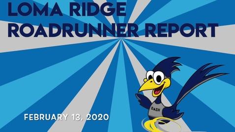 Thumbnail for entry Roadrunner Report 2-13-20