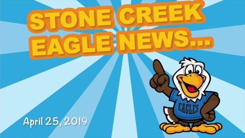 Thumbnail for entry Eagle News 4/25/19