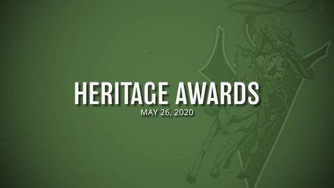 Thumbnail for entry Heritage Awards 2020